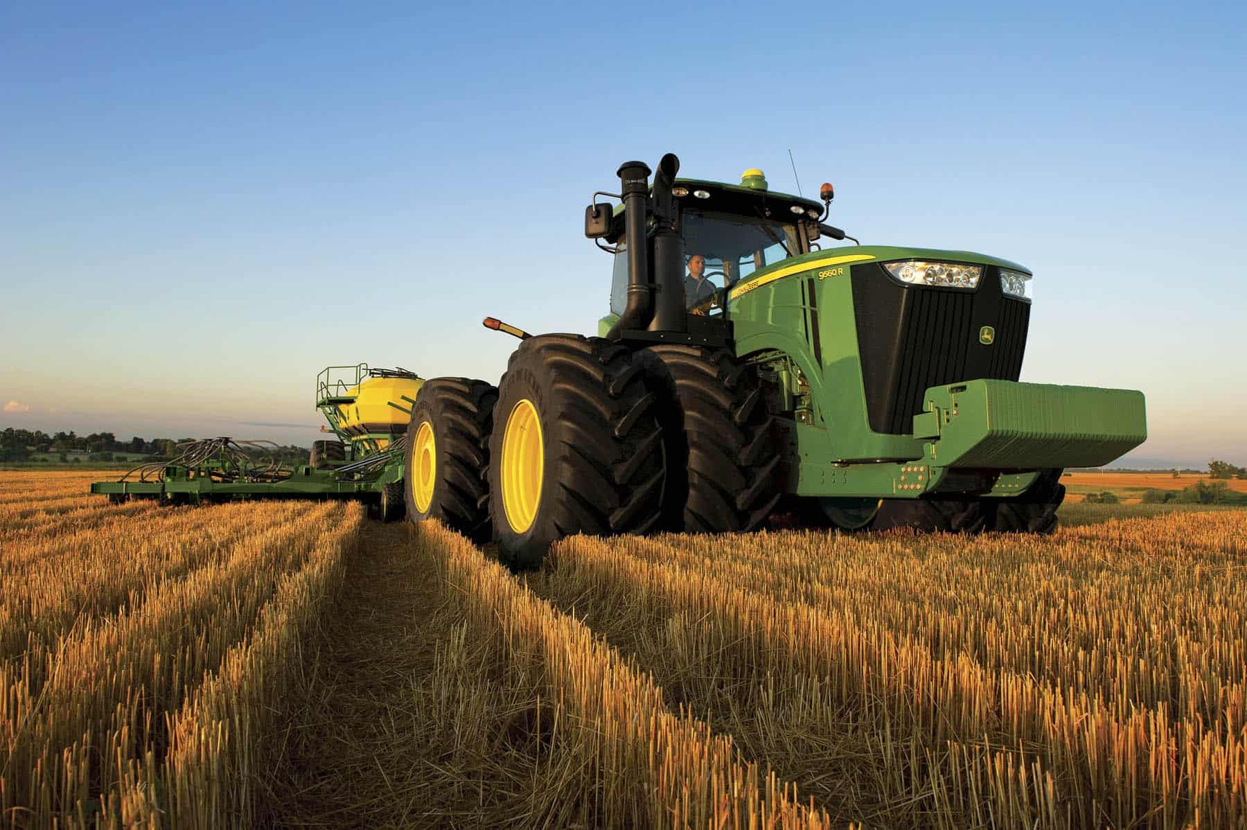 GPS for farming Equipment